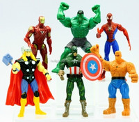 super hero oem action figure; action figure wholesale;wholsale action figure gift for kids