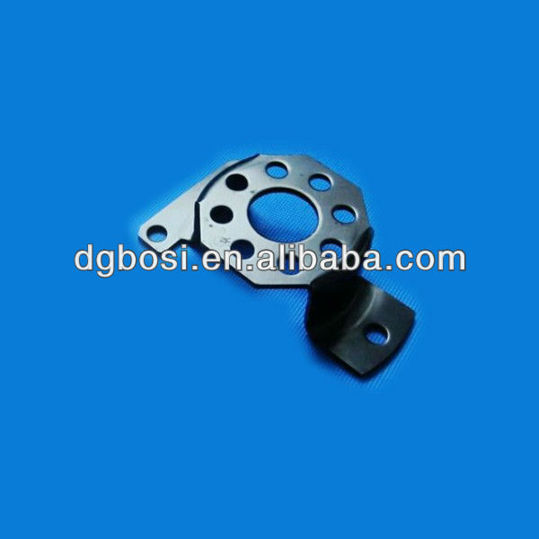 Stainless steel deep drawing parts with black powder coating for steering system Bosi-H1226-6