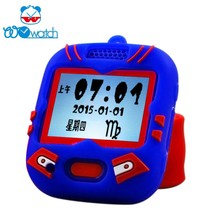 electronic kids smart watch interactive with APP or with electronic pet