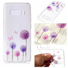 2017 Hot selling Products Transparent Soft TPU Print Mobile Phone Case For Samsung Galaxy S8 PLUS Silicon Case