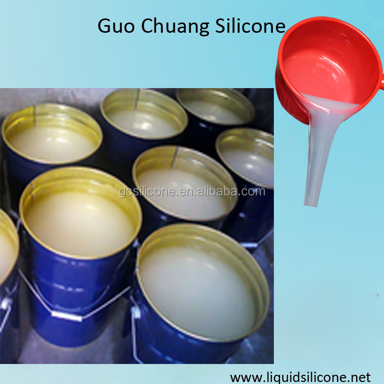 high duplication two parts liquid silicone rubber for large statue molds