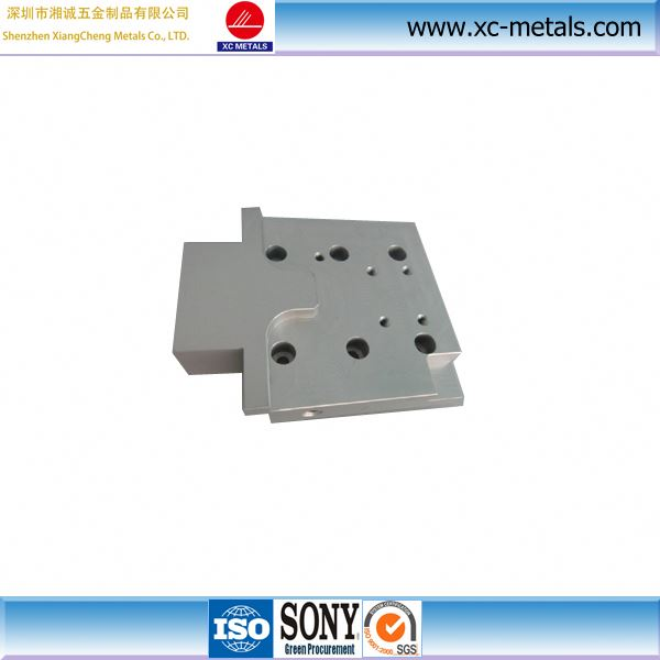 High precision custom titanium alloy part