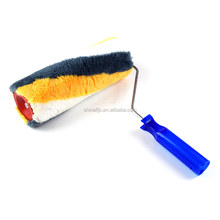 High Quality Custom Wholesale micro fiber heat paint roller brush with design