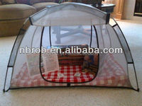 Outdoor foldable picnic mesh food cover