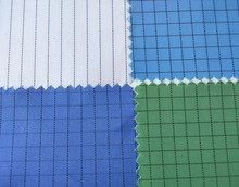 dust prevention antistatic fabric for cleanroom coverall
