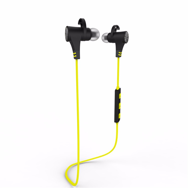 powerful bass stereo sound earphone acceptable custom bluetooth sport mp3 neckband headphone