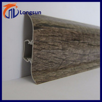 Longsun high quality decorative waterproof pvc wainscot boards