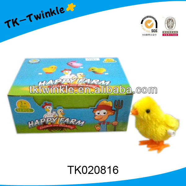 hot sell plastic wind up toys Easter chick toys
