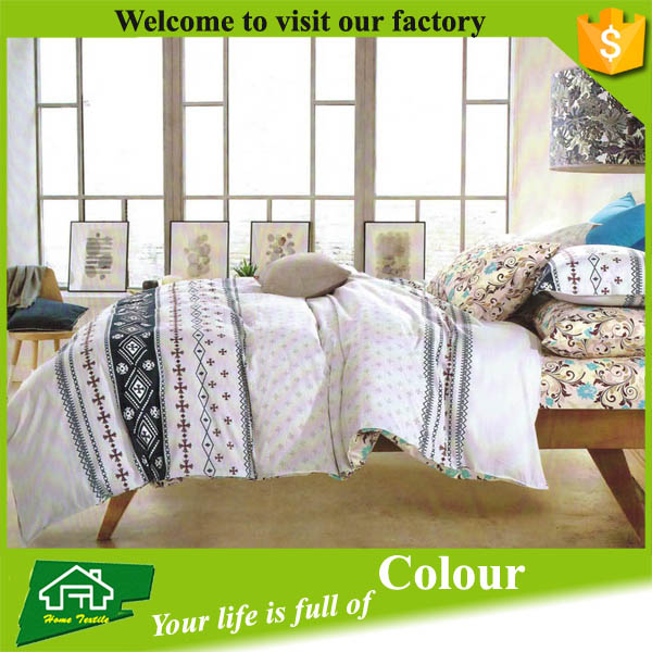Home and garden polyester microfiber bedding set