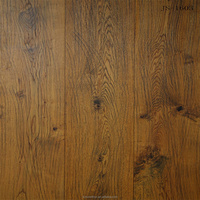 Euro Oak 300mm width engineered wood flooring distressed+stained+natural oiled