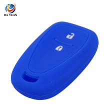AS065002 Silicone Smart Remote Car Key Case Cover For Chevrolet
