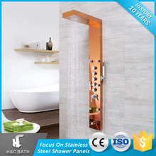 Top Sales Exquisite Spray Jets Steel Spraying Shower Panel