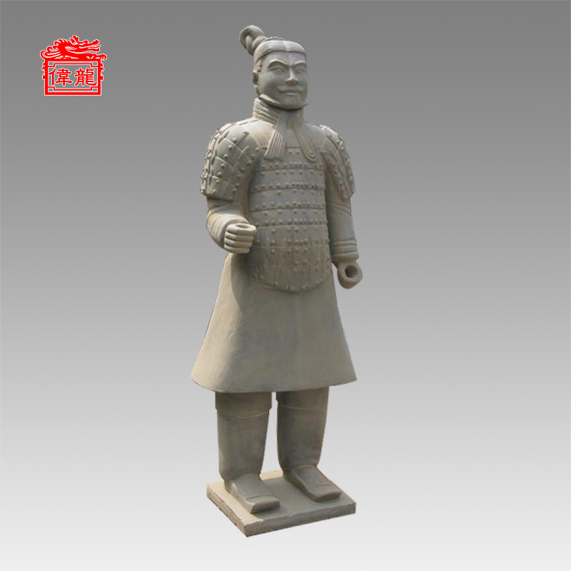 6.23ft antique garden statue terra cotta warriors facts YDN190-3