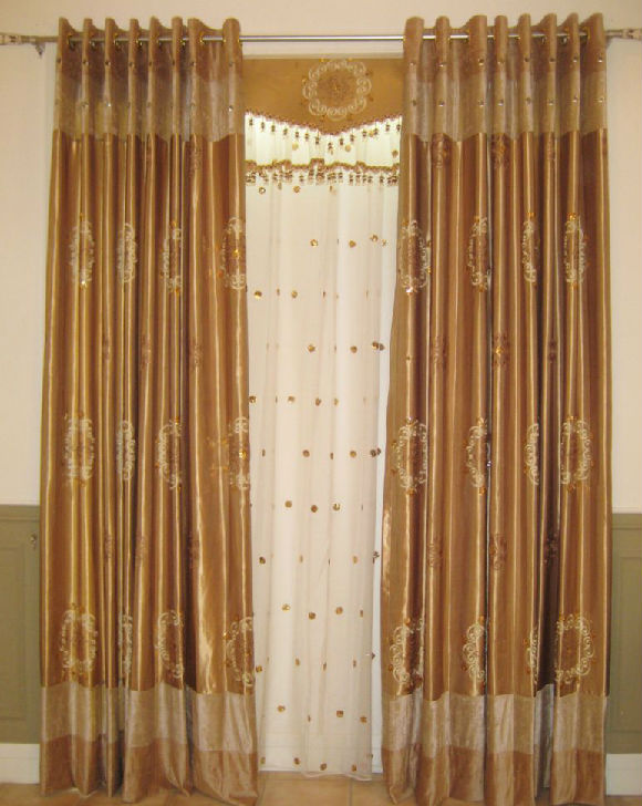 Jacquard Curtains/ Curtains Fabric for Window