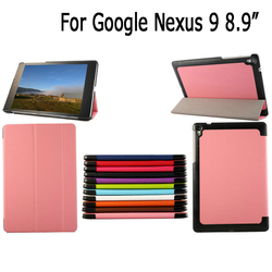 Magnetic Fold Smart Cover Leather Case For Google Nexus 9 Tablet 8.9""