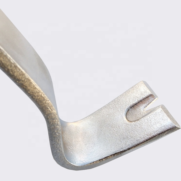 Chrome plated Flat Type Pry Bar Crowbar