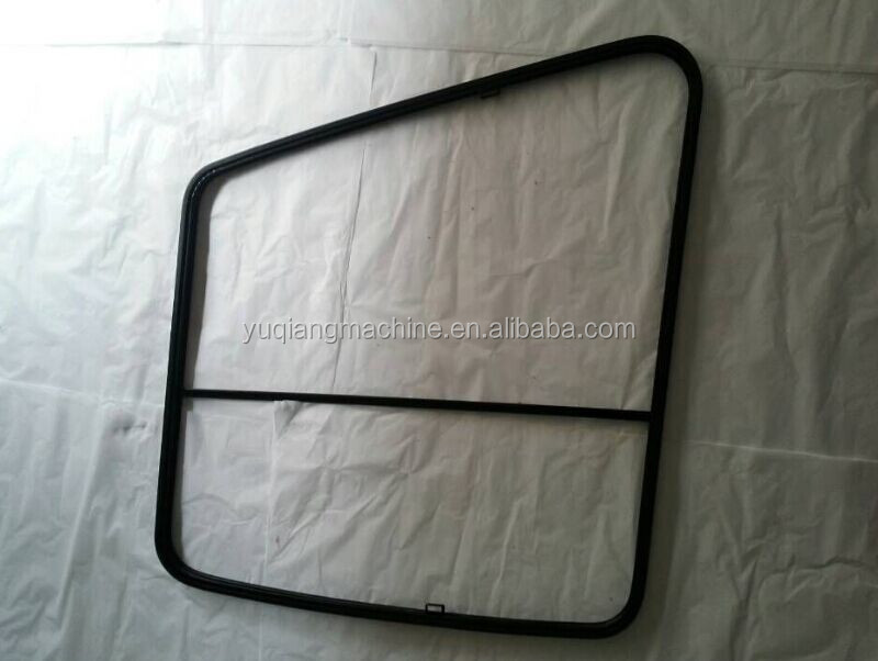 Supply Sumitomo SHA1 SHA2 SH 200-1/2 Excavator digger left slider door glass windshield holder frame