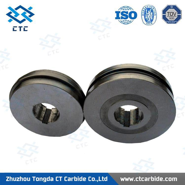 Popularizing Storm tungsten carbide flat knurl rolls with good quality