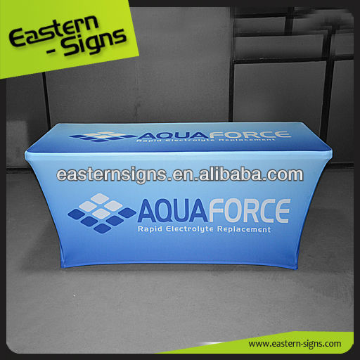 Fancy Elastic Trade Show Table Cover