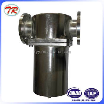 China suppliers basket Fuel filter strainer/ pump fuel filter strainer / fuel oil filter housing