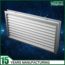 HVAC anodized silver decorative aluminum ventilation screen french door grille