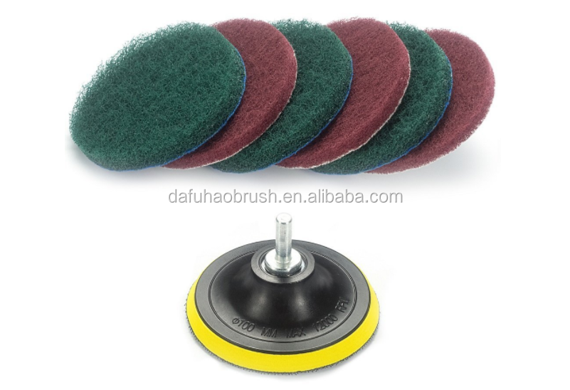 Drill brush Power Scrubber Cleaning Kit Replacement Scouring Pad