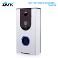 Smart home door bell camera for apartments, 2017 hot selling battery operated wireless video door phone
