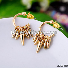 2014 Hot Spike Fashion Imitation Jewellery Make Earrings jewelry fashion jewelry
