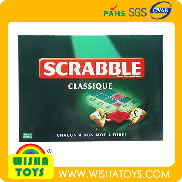 Scrabble Game English letter game/Family game