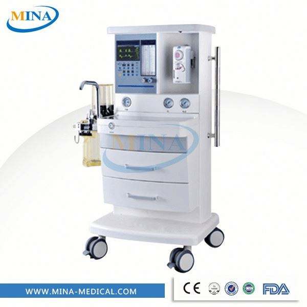 MINA-AM004 High quality Medical equipment New-technique Anesthesia machine price of portable ventilator