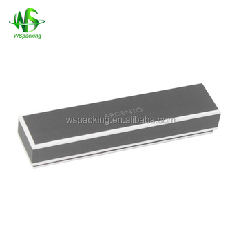 Narrow & long cardboard watch box for sales