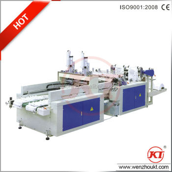 bag making machine / automatic high speed T-shirt Bag Making Machine / plastic bag making machine