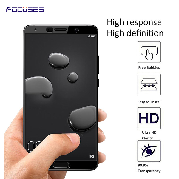 High quality 100% full cover 0.26mm 3d 9 h screen protector for huawei all model tempered glass for Huawei mate 10
