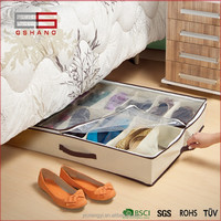 Container Homes Richards Homewares Gearbox Sixteen Cell Personal Shoe Storage Organizer Underbed Bag