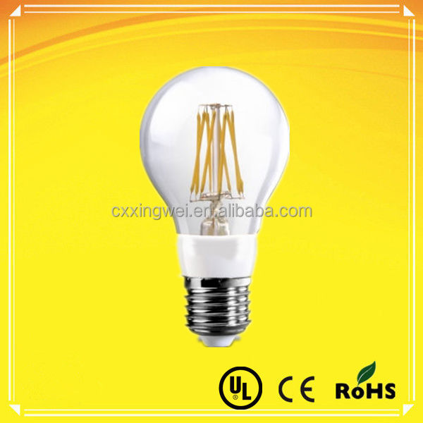 white/warm white/cool white PSE approved led filament bulb