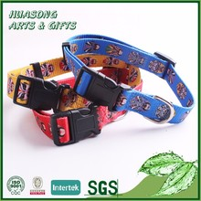 Luxury rope bling brass dog collar with metal hardware