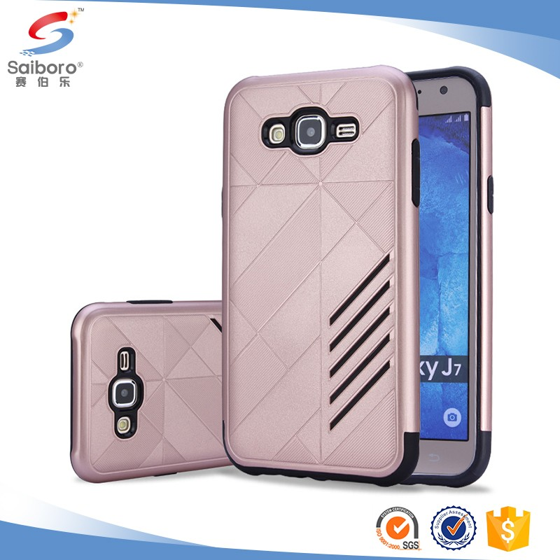Best praise armor case for Samsung j7 case, phone cover for Samsung galaxy j7