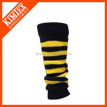 Wholesale crochet football knitting women leg warmer