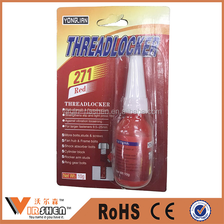 Screw thread lock sealant and anaerobic adhesive (10g)