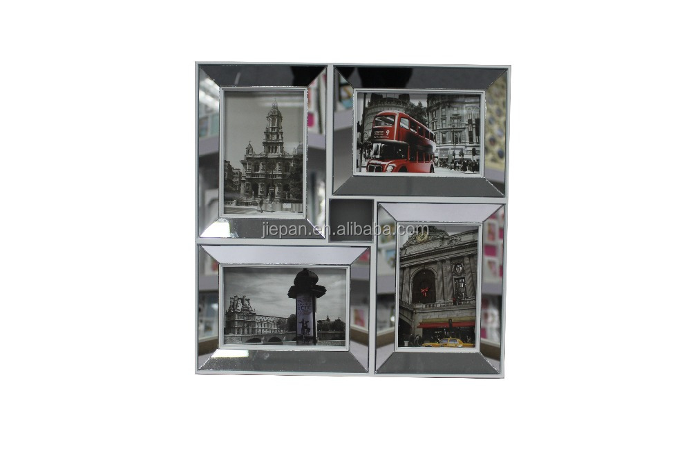 PS Material Injection Collage Frame with Mirror on Front
