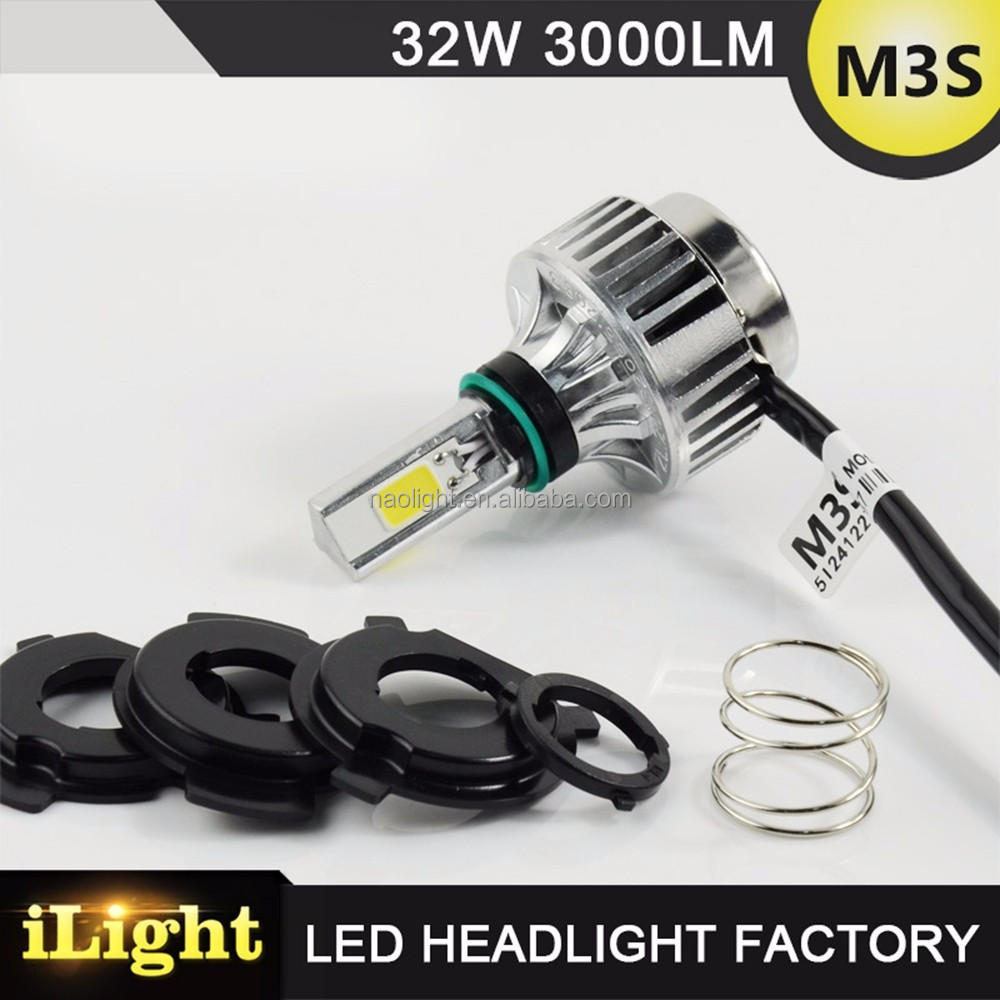 Hot Wholesale Super Bright 32W 3000LM dirt bike motorcycle universal vision headlight
