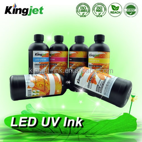 For art craft printing digital ceramic ink UV curable ink with LED light