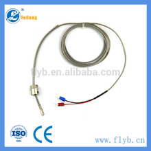 customized acceptable industrial wearable k type spring thermocouples