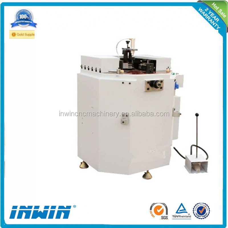factory supplier aluminum windows corner crimping machine