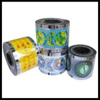 lower price tea plastic cup sealing film