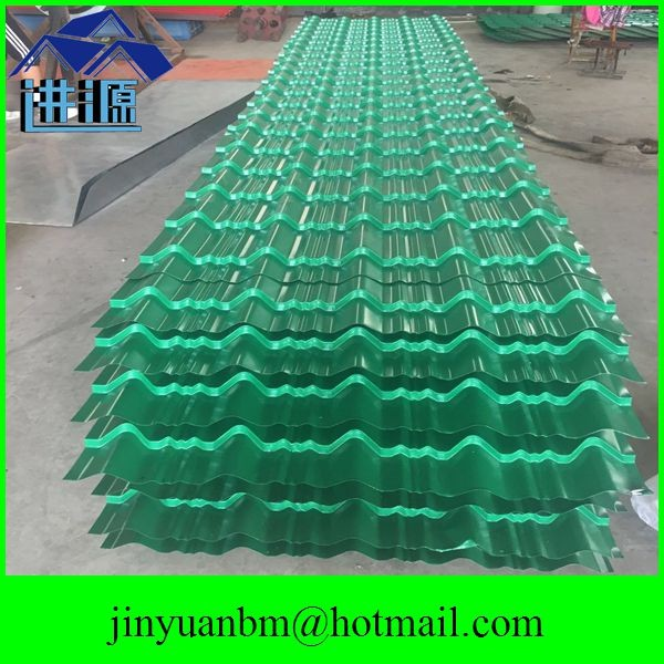 Guangdong factory galvanized corrugated roofing sheet