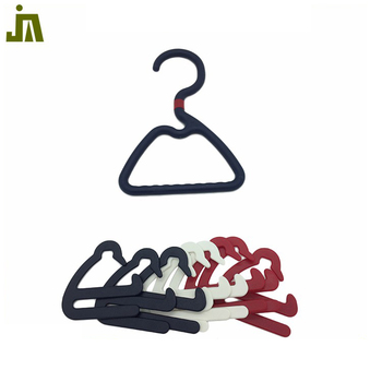 Best price customized transparent plastic cloth hanger for clothes