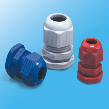 PG7-63 Nylon Cable Gland with Cable