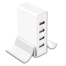 Quick Charge 3.0 USB Charger 25W 5A 4 Multi-Port USB Charging Station