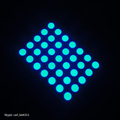 3mm dot led matrix 5x7 dot matrix blue 3mm led dot matrix 5x7 blue